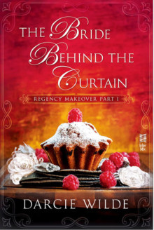 the bride behind the curtain